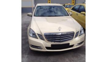 Mercedes-Benz E 200 CDI CLASSIC '12